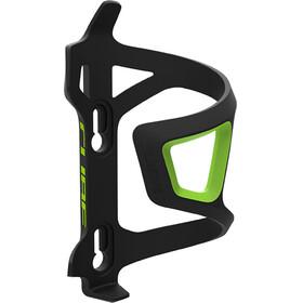 Cube HPP Left-Hand Sidecage Flaschenhalter schwarz/grün
